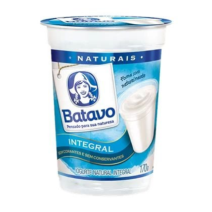 IOGURTE INTEGRAL NATURAL COPO BATAVO 170G