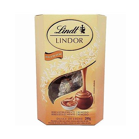 CHOCHOLATE LINDT LINDOR DULCE DE LECHE BALLS 200G