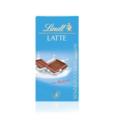 CHOCOLATE ZERO AÇUCAR AO LEITE LATTE LINDT 100G