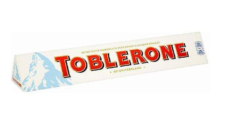 CHOCOLATE BRANCO TOBLERONE 100G