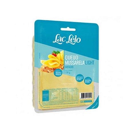 QUEIJO MUSSARELA  LIGHT FATIADO LAC LELO 150G