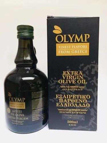 AZEITE DE OLIVA EXTRA VIRGEM GREGO OLYMP CAIXA 500ML