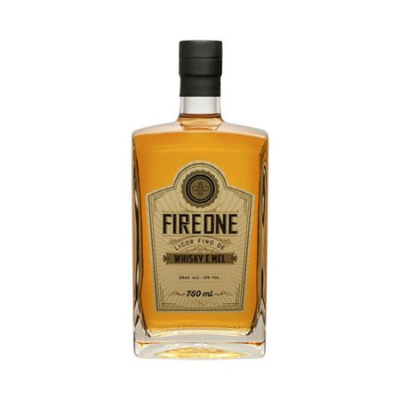 Licor Fino de Whisky Fire One Mel 750ml