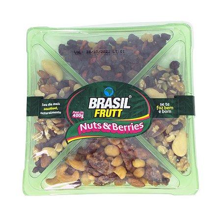 MIX NUTS & BERRIES BRASIL FRUTT 400G