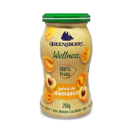 GELEIA DE DAMASCO 100% FRUIT QUEENSBERRY 250G