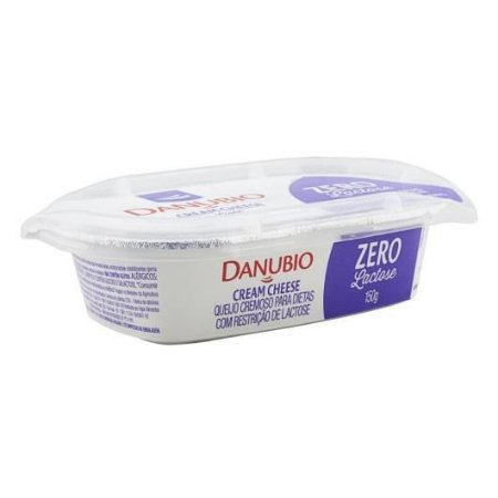 CREAM CHEESE ZERO LACTOSE DANUBIO 150G