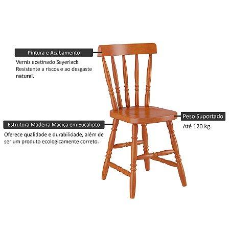 Cadeira Piratini 150a Mel Acetinado