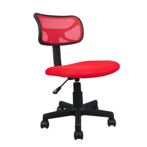 Cadeira De Escritório Acasa Vermelha