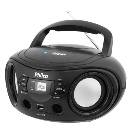 Radio Philco Com Bluetooth E Usb Pb122bt
