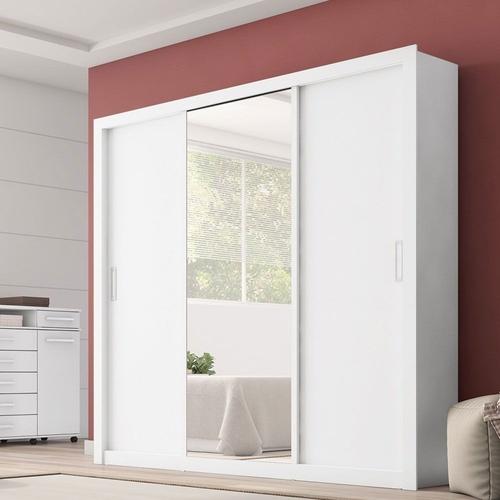 Roupeiro Demobile 3 portas Residence branco
