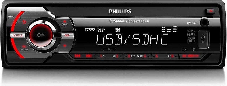 Auto Rádio Philips Cem 131 Usb E Sd