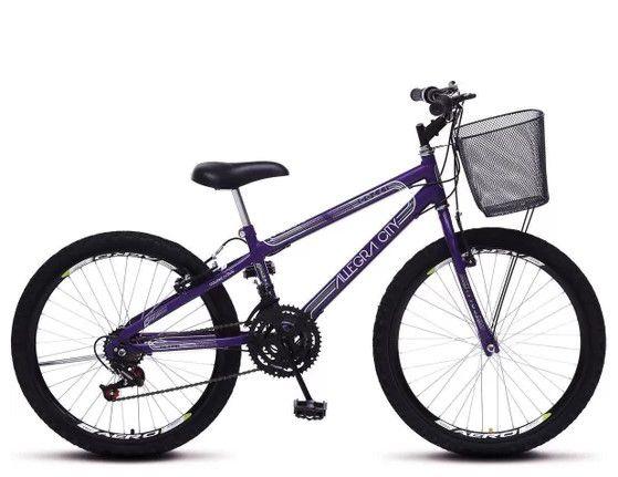 Bicicleta Colli Allegra City Aro 24 - 21 Marchas