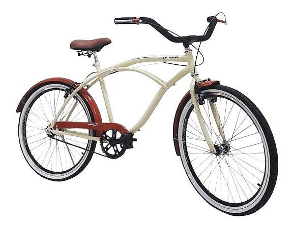 Bicicleta Sport Bike Beach Retrô Aro 26