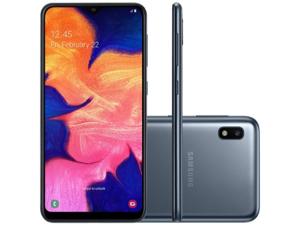 Celular Samsung A10 A105 32gb preto