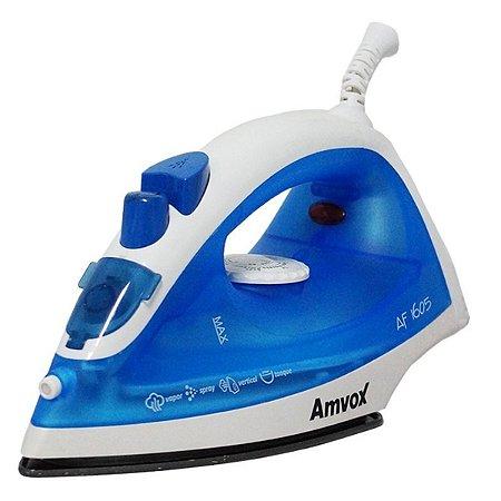 Ferro De Passar Amvox A Vapor Af1605 Azul 220v