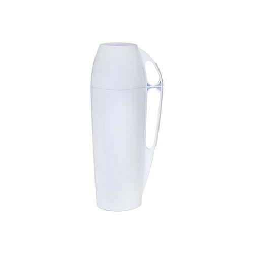 Garrafa Térmica Mor 1 Litro Eleganza Branca