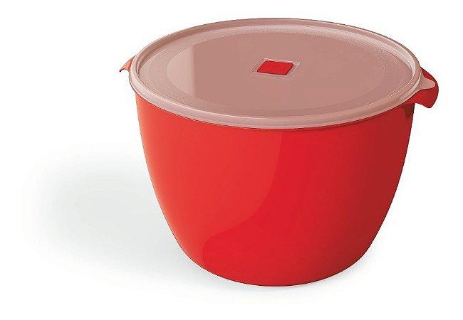 Multiuso Uz 10 L Itros Redondo Vermelho