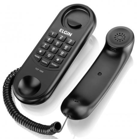Telefone Gôndola Elgin Tcf1000 Preto