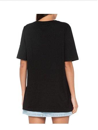 T-Shirt Farm Feminina Média Silk Abre Asas