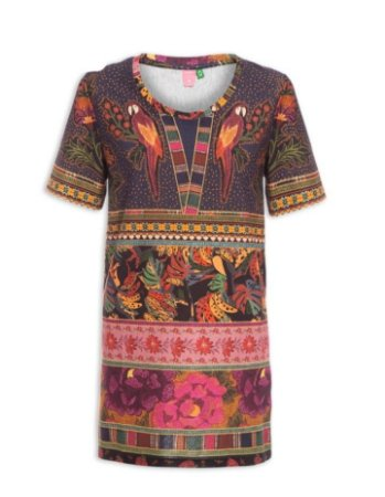 Vestido Farm T-Shirt Pacht Lindeza