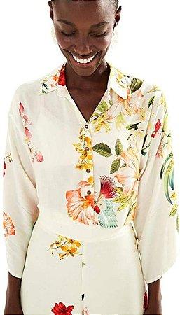 Camisa Farm Kimono Petalis -hb03