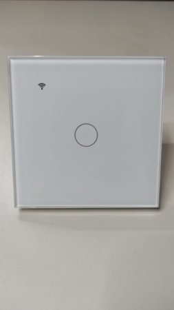 Interruptor touch Wifi alexa Google assistence 1 canais
