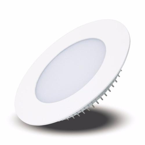 Luminária Plafon Led 12w Embutir Redondo Branco Frio