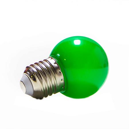Lâmpada Bolinha Led Decorativa 1W Verde