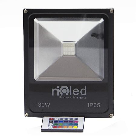 Refletor Led 30W RGB