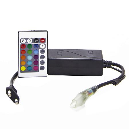 Controle e Controladora RGB Para Fita Led 127v até 25m