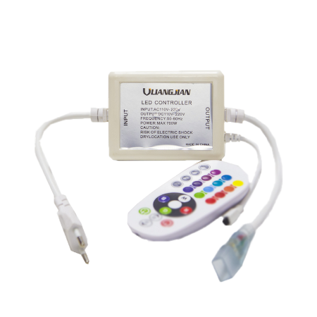 Controle e Controladora RGB Para Fita Led 127v até 50m