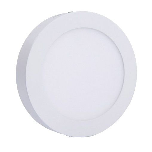 Luminária Plafon Sobrepor Led 18w Redondo Branco Frio