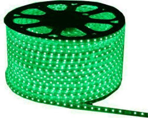 Fita Led 127v 5050 Verde 1 metro