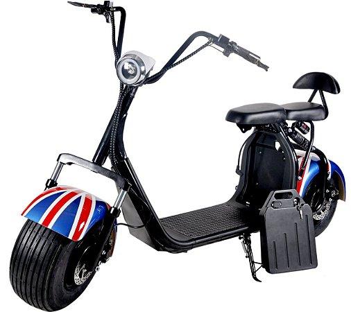 Bike Scooter Elétrica Harley Citycoco 1500w