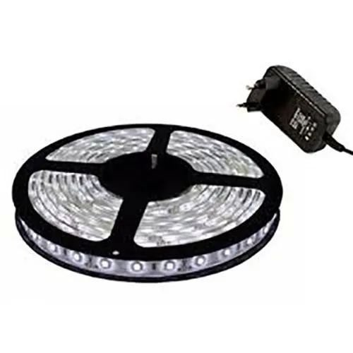 Fita Led 5050 12v + Fonte 2A IP20 Azul