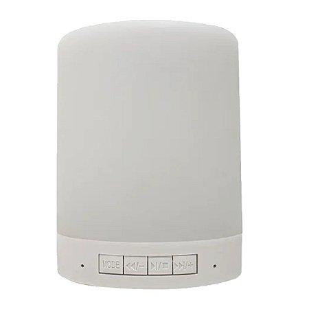 Luminária Touch RGB com Bluetooth