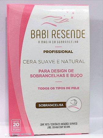 Kit C/ 03 Cera P/ Sobrancelhas Babi Resende C 20 Un Cada