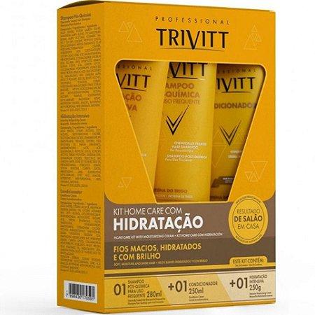 Itallian Trivitt Kit Manutenção Home Care Com Máscara