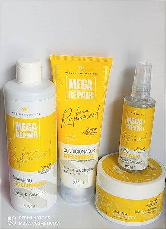 Wever Kit Crescimento Bora Rapunzel Biotina & Colageno