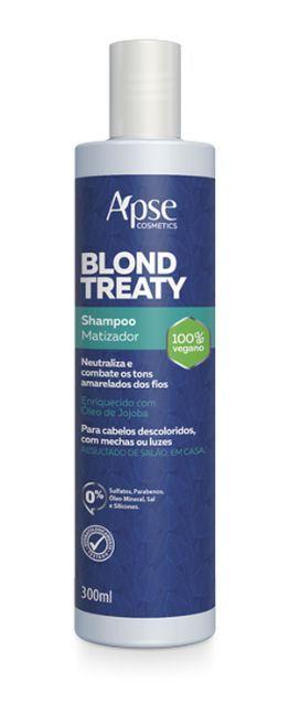 Shampoo Matizador Blond Treaty 300ml - Apse