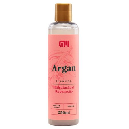 Shampoo Argan e Babosa G14 Store 250ml