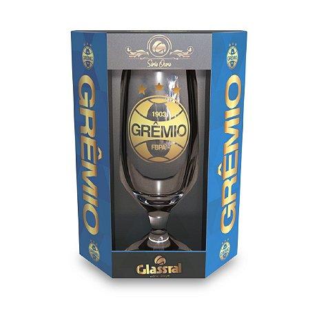 Taça Glassral cerveja Grêmio Ouro GR1677
