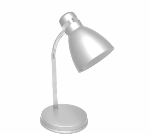 Luminária G-Light Mesa Articulada Prata 60w