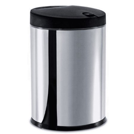 Lixeira Brinox inox press com tampa 4L