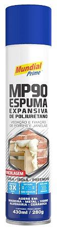 Espuma poliuretano Mundial Prime bricolagem 280g