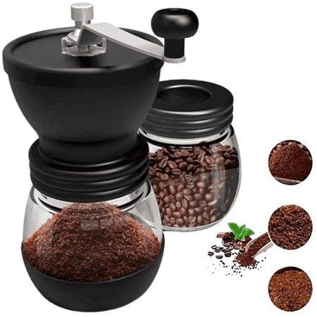 Moedor De Café Manual Com Recipiente 18,5X17,5Cm Mimo