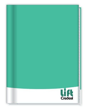 Caderno Brochura universitário Lift Credeal - Sortido