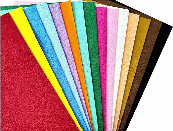 EVA atoalhado BRW cores sortidas 40x50cm