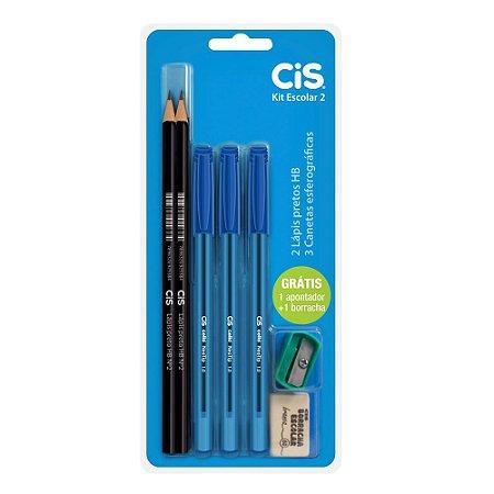 kit escolar CIS  com 7 pçs