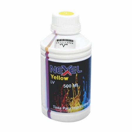 Tinta UV Universal  500ml Yellow Nexel